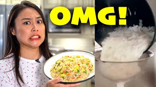 We tried the BBC Food Egg Fried Rice Recipe!