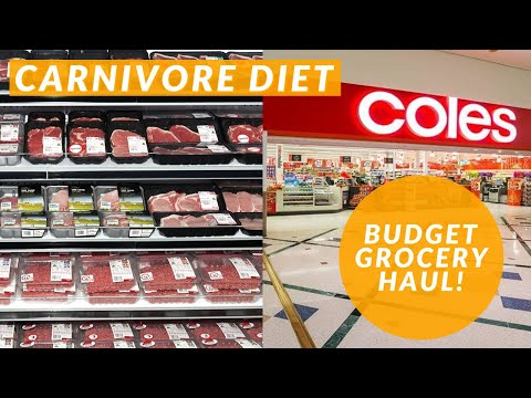 What's Carnivore at Coles Australia? (Carnivore Diet Grocery Haul) thumbnail