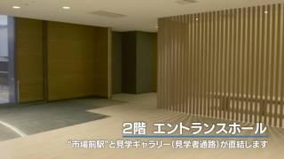 豊洲市場 施設竣工映像