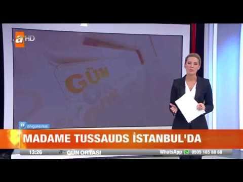 Madame Tussauds İstanbul'da Ünlülerin Balmumu heykelleri