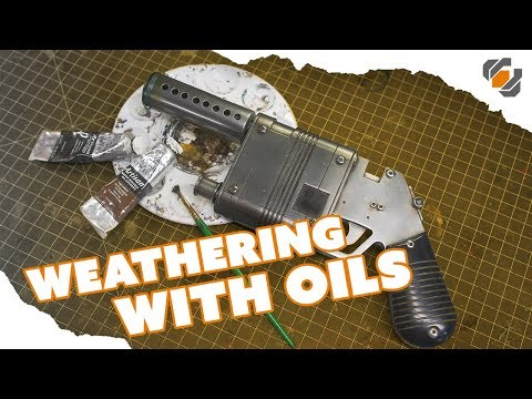 HOW TO - Weather Props with Oil Paints - Tutorial