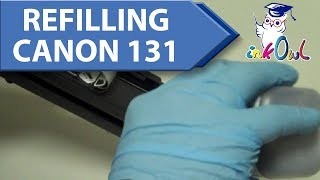 How to Refill Canon Type 131, 331, 731 Toner Cartridges