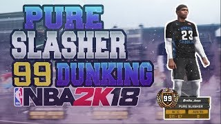 Video 99 OVERALL CONTACT DUNKS!! PURE SLASHERS ARE UNSTOPPABLE!!! NBA 2K18 download MP3, 3GP, MP4, WEBM, AVI, FLV November 2017