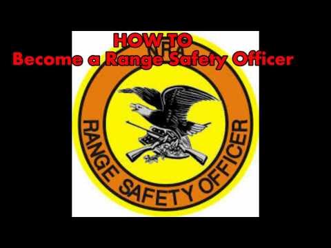 How I Became A NRA Range Safety Officer