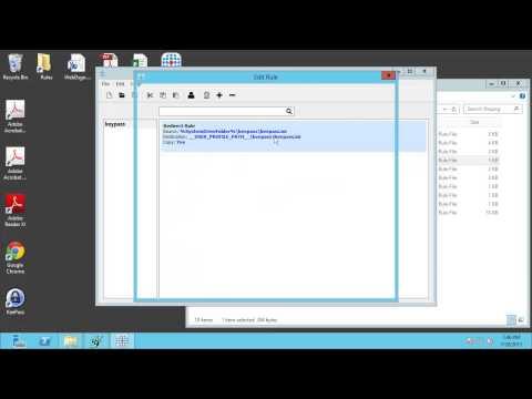 FSLogix Apps -- Redirection of user data -- Demo using KeyPass