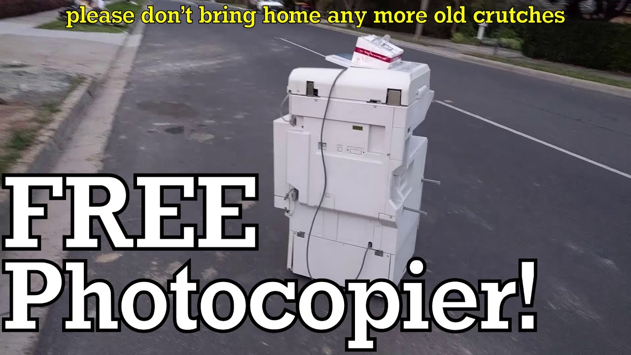 What Does A Hacker Do With A Photocopier? | Hackaday