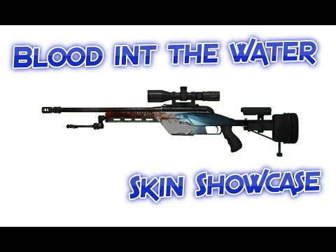 [CSGO] Skin Showcase | SSG 08 | Blood in the Water (Factory New)