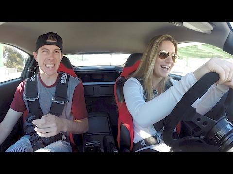 Teaching my Girlfriend How To Drive Stick