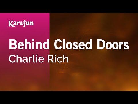 Karaoke Behind Closed Doors - Charlie Rich *