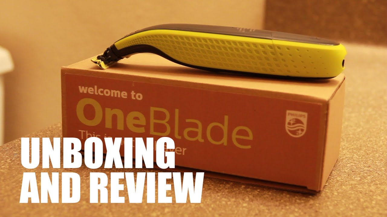 philips norelco oneblade unboxing and review youtube. Black Bedroom Furniture Sets. Home Design Ideas
