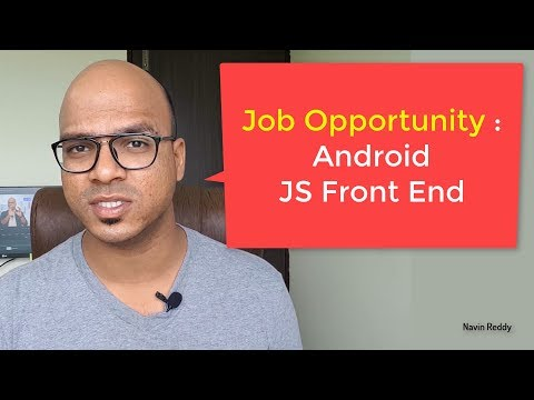 Job Opportunity | Mumbai | Android | Front End JavaScript