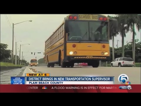 New Transportation Supervisor Named For The Palm Beach County School District