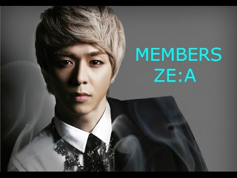 Members Of ZE:A 2016 (SACROSKPOP)