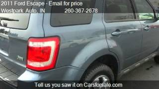 2011 Ford Escape Limited 4WD - for sale in Lagrange, IN 4676