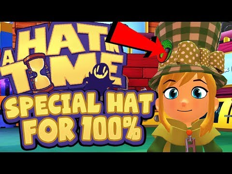 A Hat In Time - Special 100% Hourglasses Hat!