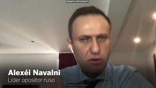 El mensaje de Navalni para el Parlamento europeo