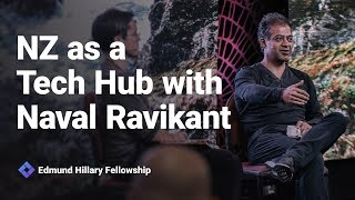 Naval Ravikant on NZ as a Tech Hub