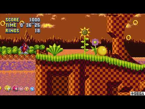 Sonic Mania Plus GLITCH? - Green Hill (Music Stops Playing) [PS4]