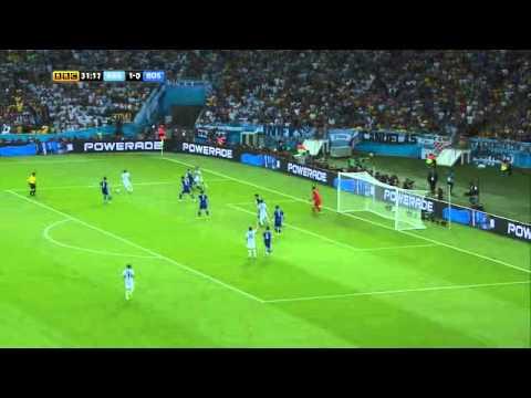 Argentina Vs Bosnia Hercegovina FIFA World Cup 2014 Group F