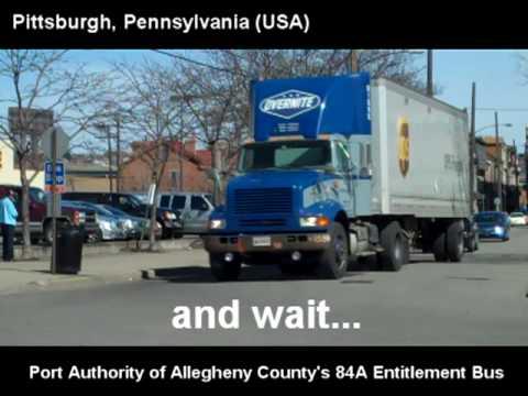 "The Port Authority Public ""Entitlement"" Bus - Pittsburgh, Pennsylvania"