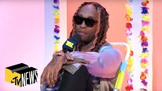 Ty Dolla $ign Talks Lauren Jauregui & 'Beach House 3' | Message In A Bottle | TRL Weekdays at 4pm