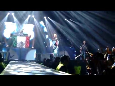 Crawling, Waiting For The End & What I've Done - Linkin Park. The Hunting Party Tour Mexico 2015