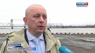 Железнодорожный мост в Архангельске через несколько месяцев вновь ждёт ремонт