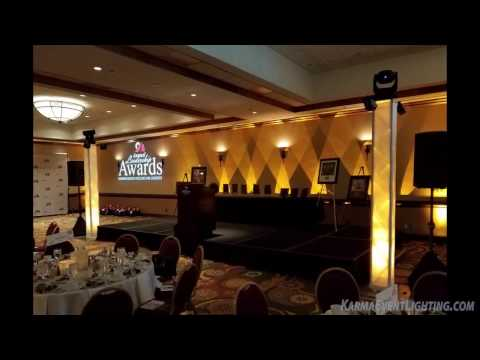 Mesa Chamber of Commerce Awards Gala 2017 Karma Event Lighting