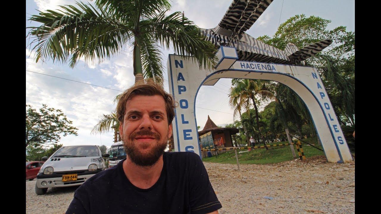 Visitando a Fazenda do Pablo Escobar na Colômbia - YouTube