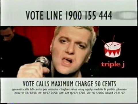 Triple J Hottest 100 1997 voting ad