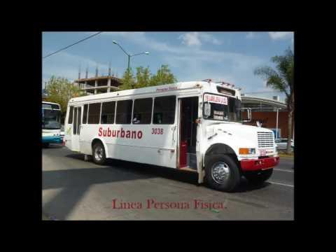 Camiones Urbanos de León, Guanajuato, México. 2015.