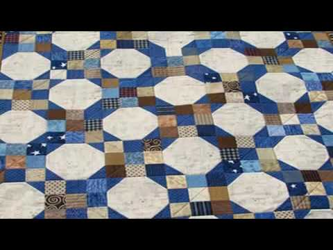 simple quilting patterns for beginners mini snowball quilt - YouTube : snowball quilt patterns - Adamdwight.com