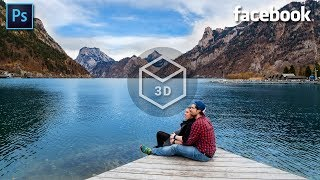 How to Create 3D Photo on Facebook - Create Facebook 3D Photos in Photoshop!
