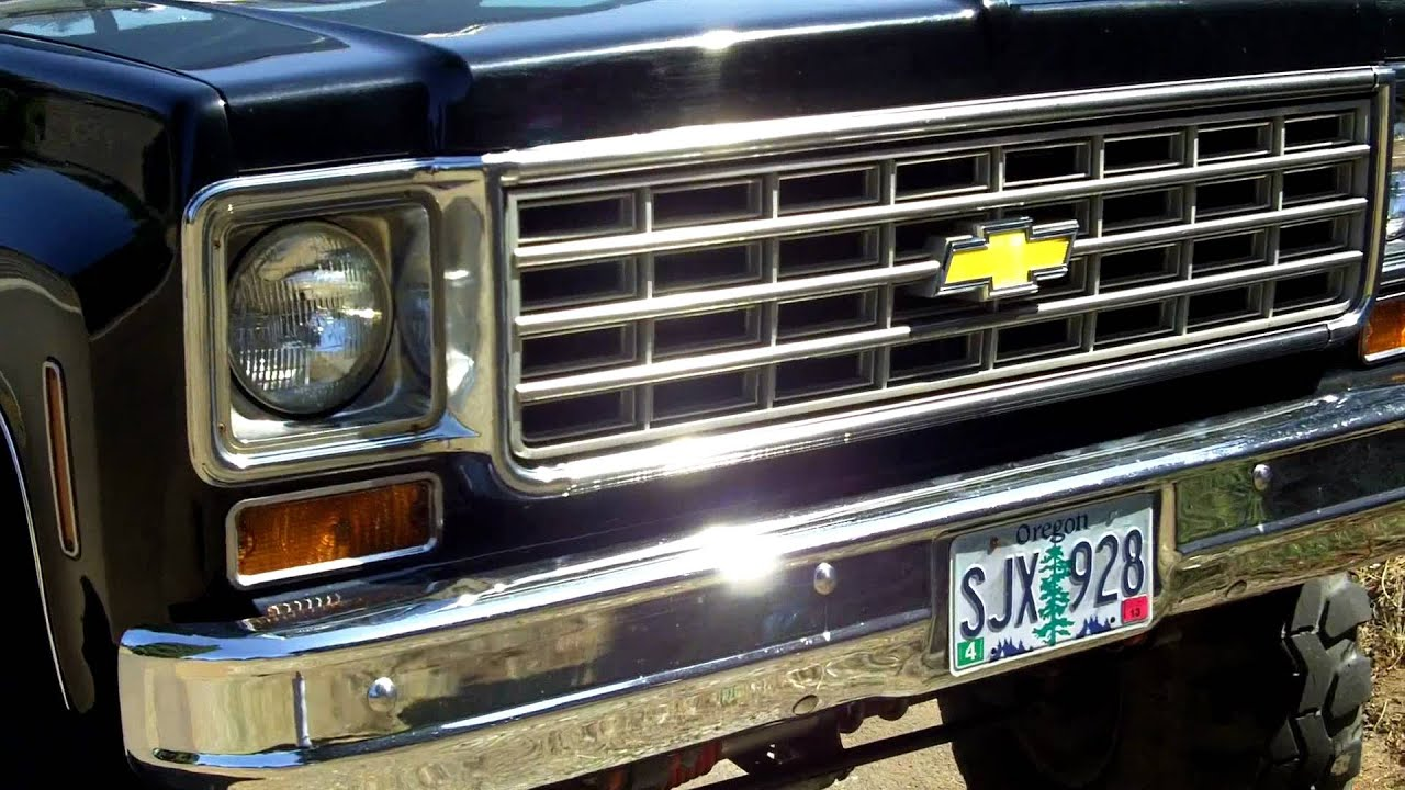 76 Chevy K10 4x4 454 Big Block 3 4 Ton Running Gear 6 Lift Swb 1976 1 2 Truck