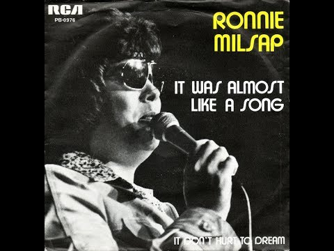 Ronnie Milsap - It Was Almost Like A Song - with Lyrics