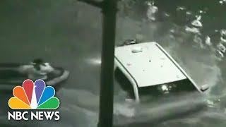 Dramatic Rescues Follow Devastating Houston Floods | NBC News