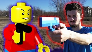 One of CCMegaproductions's most viewed videos: LEGO meets Minecraft
