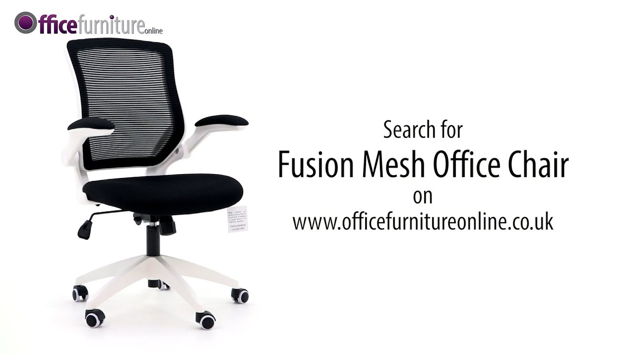 fusion mesh office chair features and user guide youtube