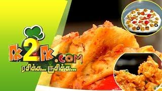 Rasikka Rusikka 26-04-2015 Dosa Pizza & Chinese Pakoda