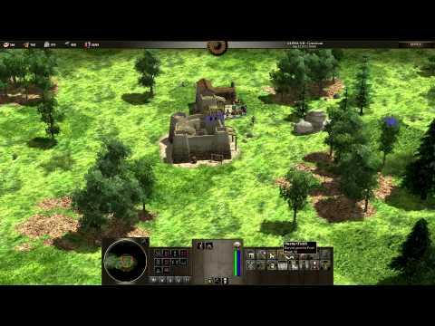 0AD Alpha 7 - Pro vs Beginner