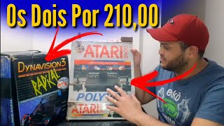INCRÍVEL Comprei 2 Vídeo Games na Caixa nessa Caçada Gamer