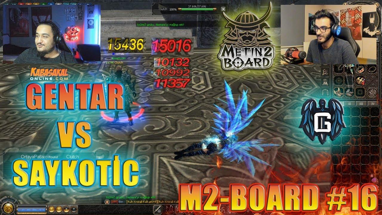 GÖKHAN'LA BÜYÜK VS VE BÜYÜK CHALLENGE!    M2 Board #16 #Metin2 #Metin2Pvp