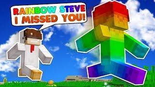 Minecraft Steve Saga - FINDING RAINBOW STEVE