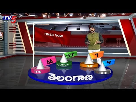 Telangana Exit Polls | Big Breaking With TV5 Murthy | Election With TV5 | TV5 News