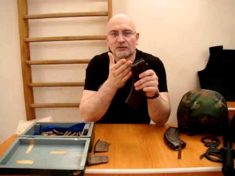 Дмитрий Саломатин СНАРЯЖЕНИЕ МАГАЗИНА К АВТОМАТУ КАЛАШНИКОВА