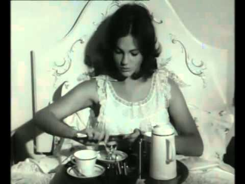 Sexy, Young 19YearOld Jacqueline Bisset in 1964 British Egg Commercial