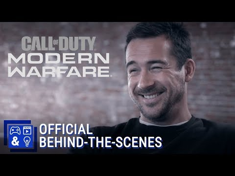 Official Call Of Duty: Modern Warfare - Becoming Captain Price