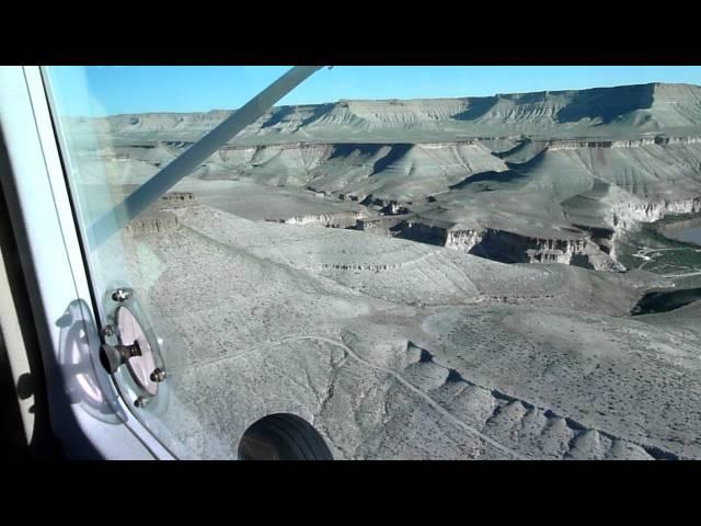 Landing at Sand Wash