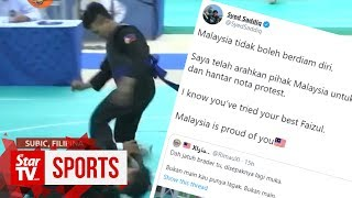 SEA Games: Malaysia to send protest note over silat athlete knocked unconscious by P'pine rival