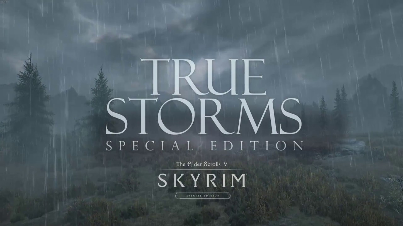 authentic quality good quality classic style True Storms for Skyrim Special Edition